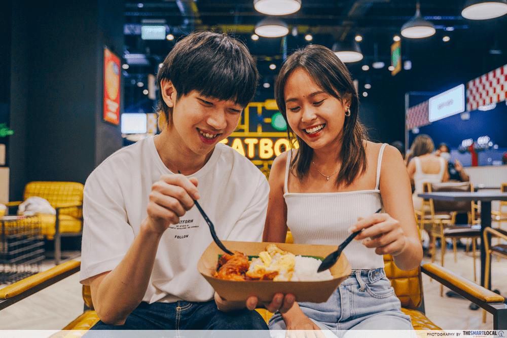 eatbox - nasi lemak