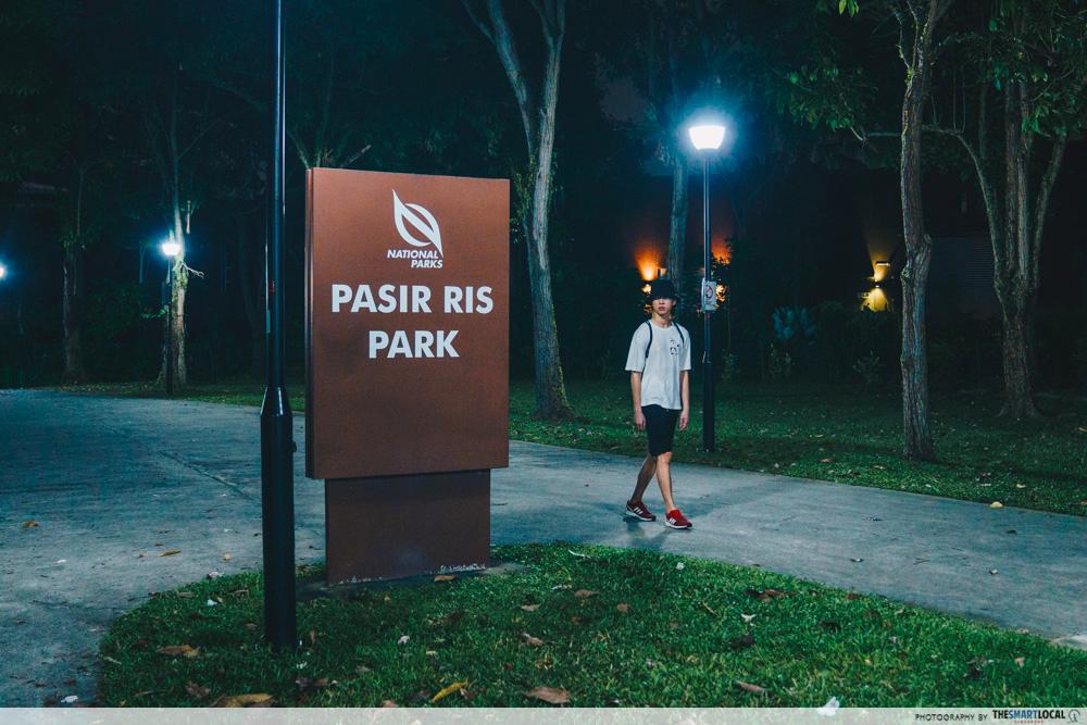 ghost hunting - pasir ris park