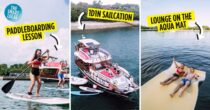 You Can Now Take A Hong Kong Junk Boat, With Stand-Up Paddleboarding At Lazarus Island