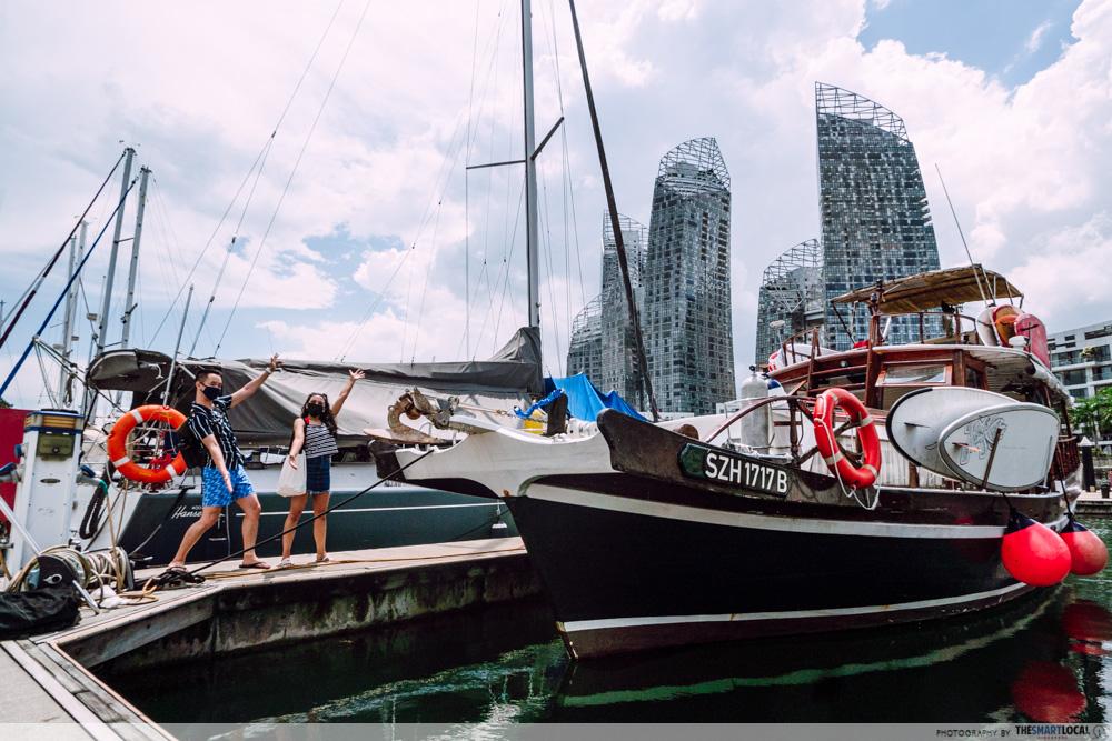 Hong Kong Junk Boat Singapore