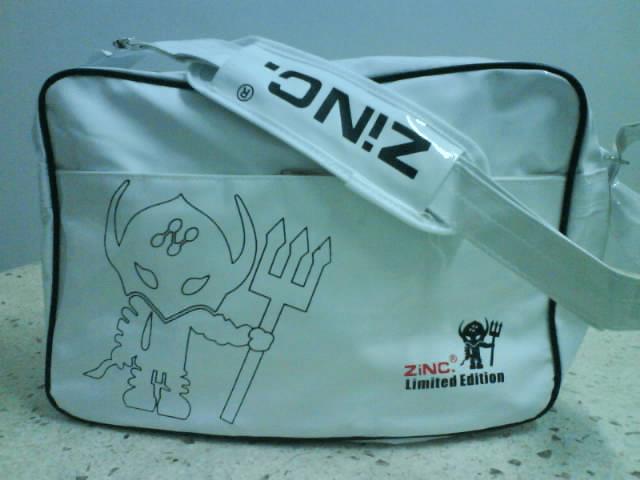 iconic school bags - zinc