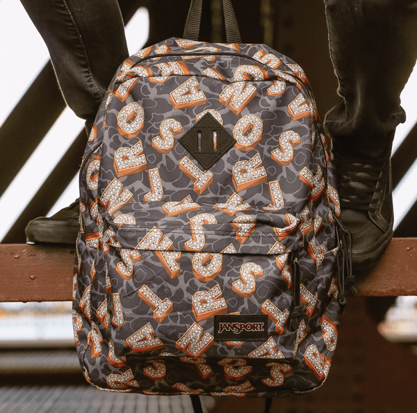 iconic school bags - jansport collab