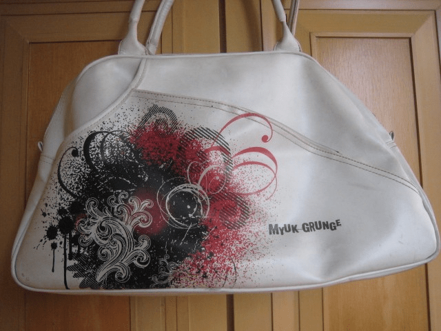 iconic school bags - white myuk