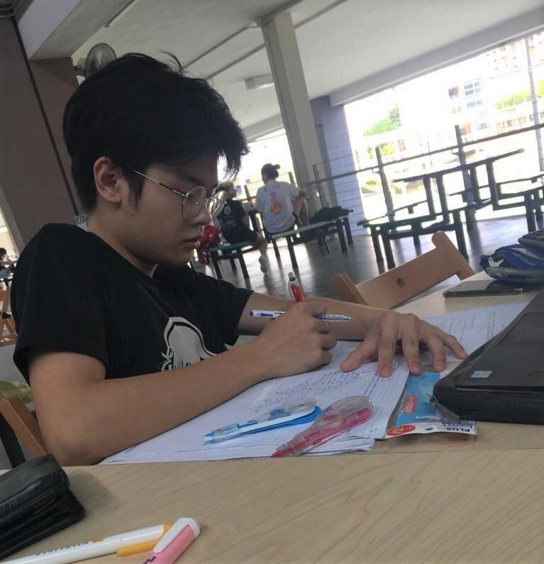 Mental Health - Billy Tran studying