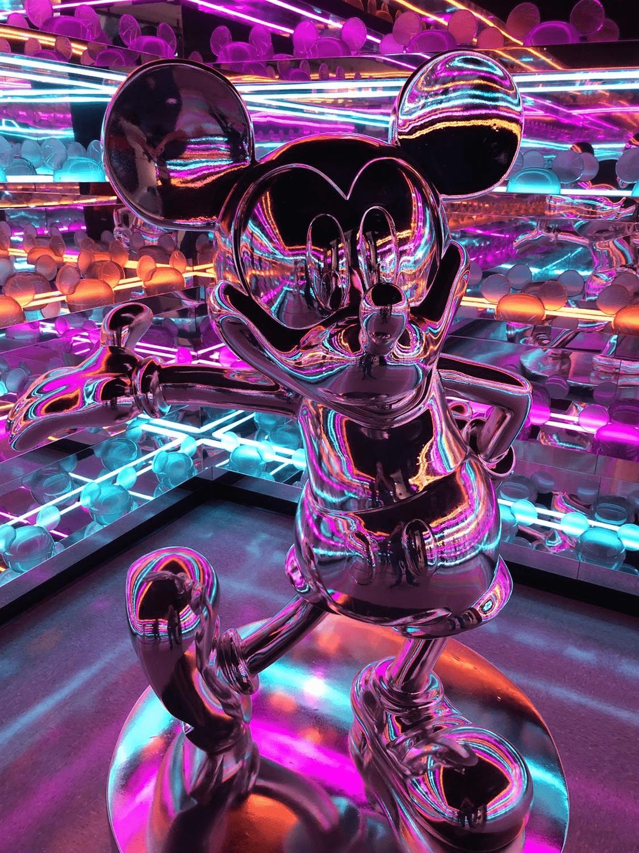 Forever Mickey exhibit