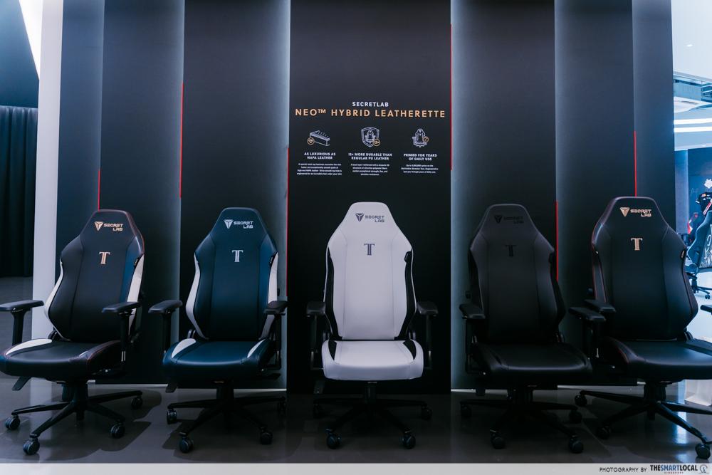 secretlab - chairs