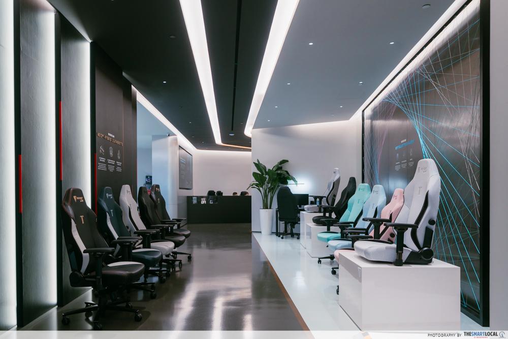 secretlab - showroom