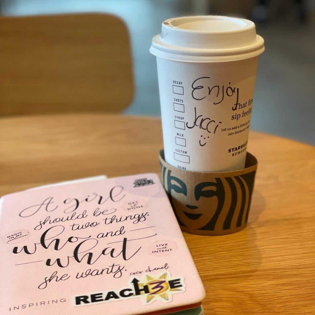 Starbucks x LLI Learning Cafe - Personalised service