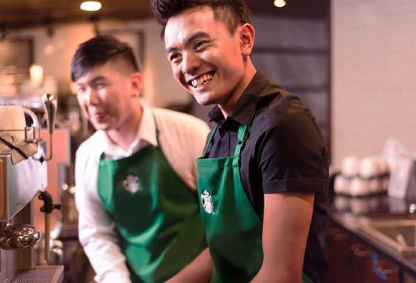 Starbucks x LLI Learning Cafe - Starbucks baristas