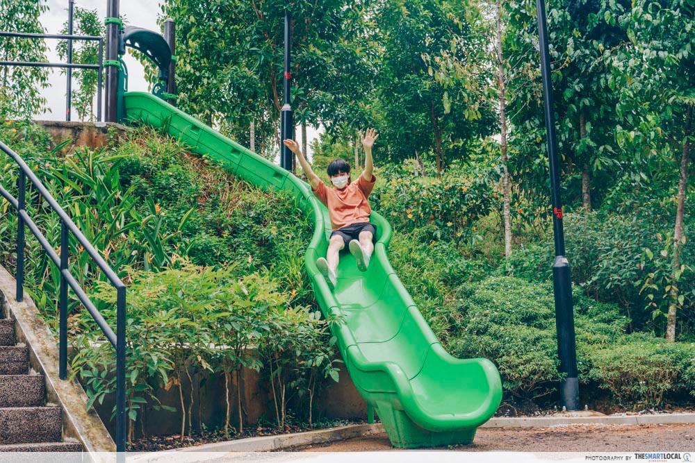 bukit gambok park playground slide