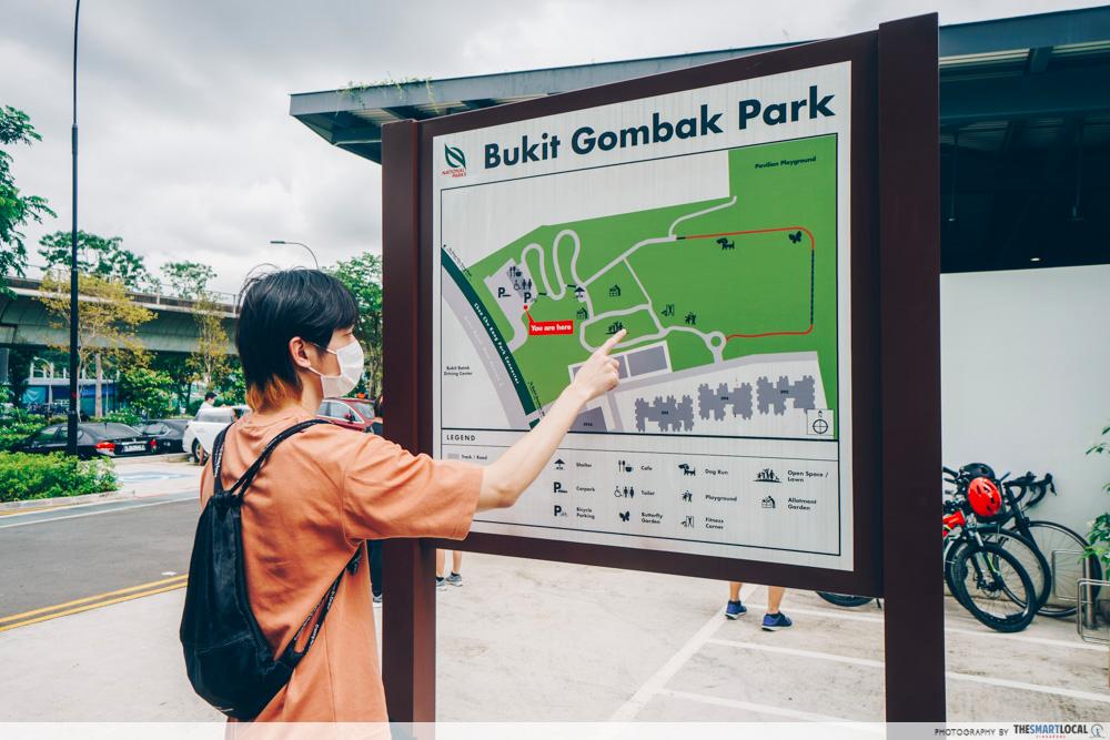 getting to bukit gambok park