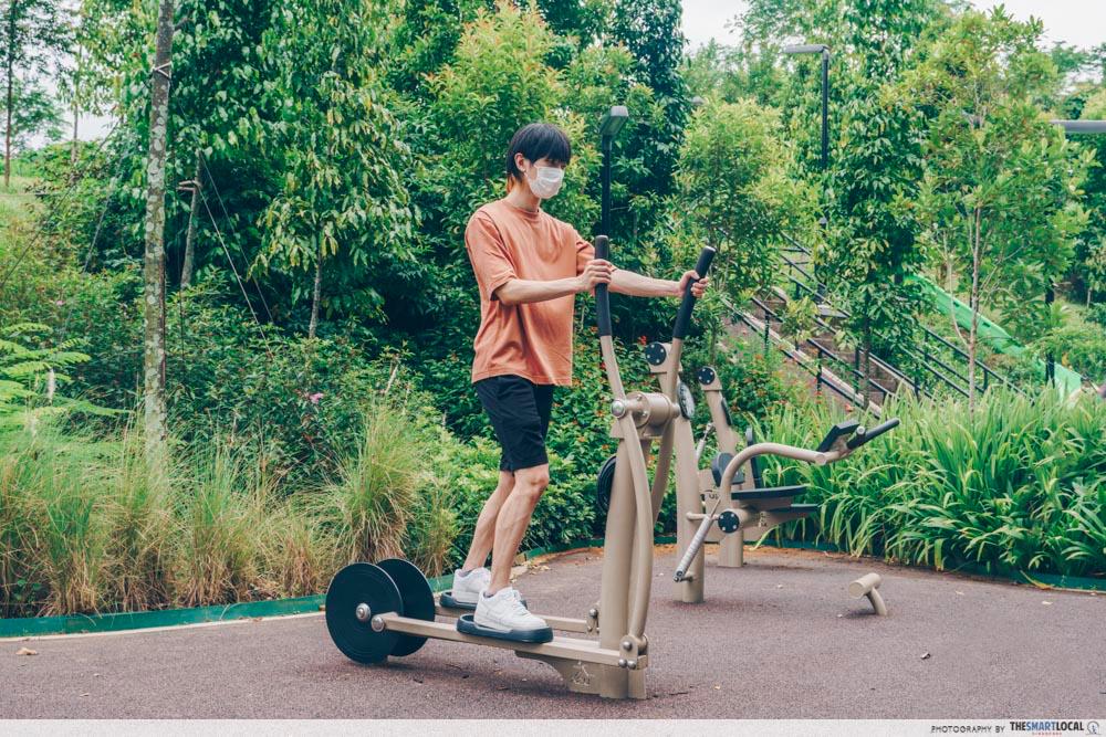 bukit gambok park fitness corner