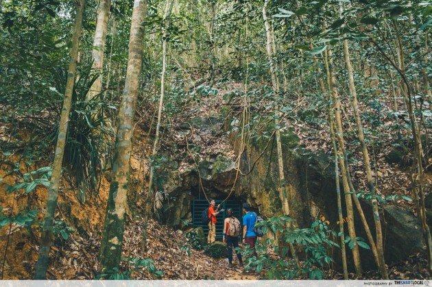 bukit timah caves