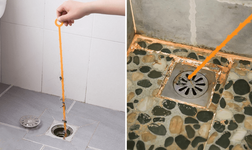 cleaning tools - barbed drain cleaner