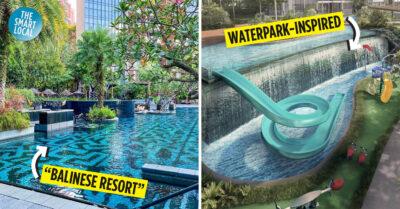 condo swimming pools in singapore