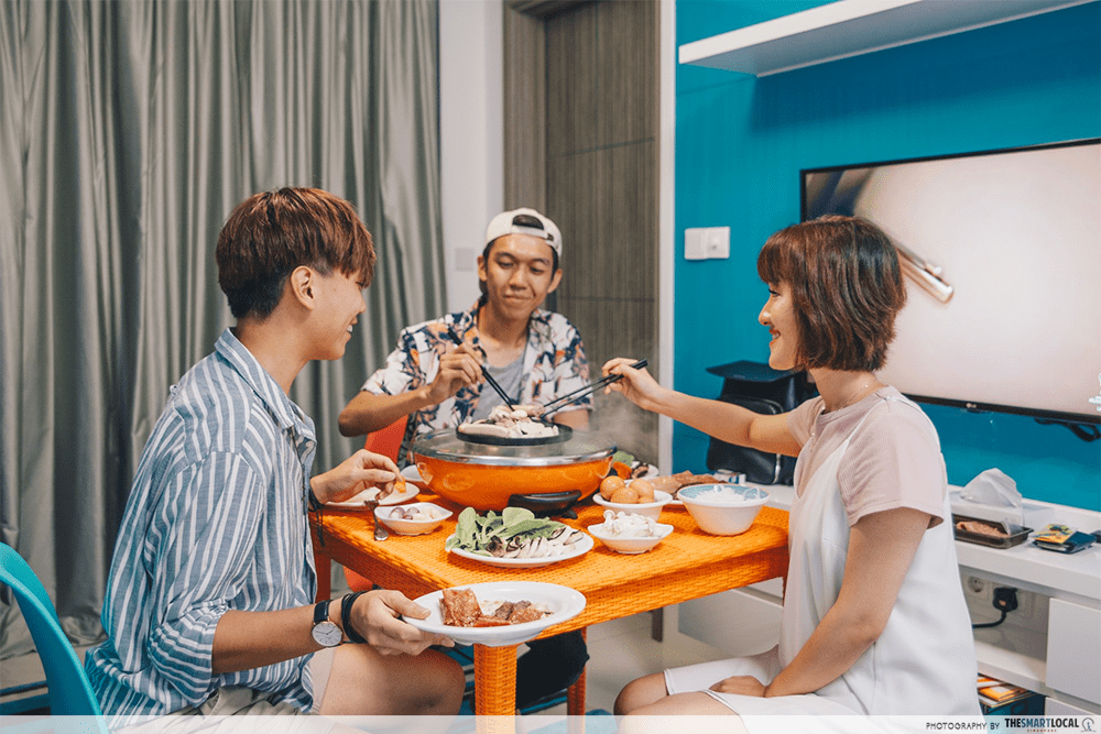 hotpot house party