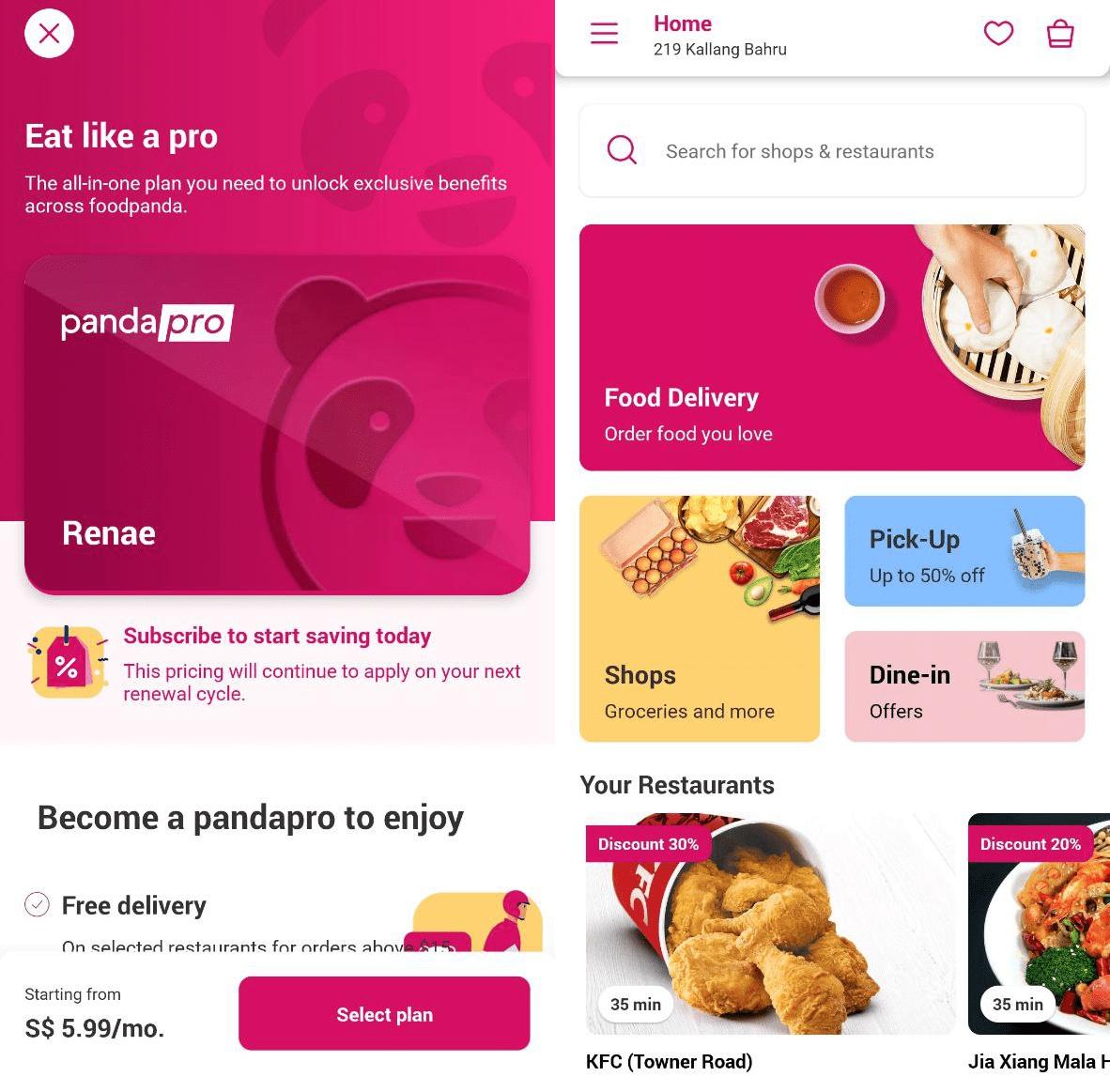 foodpanda hacks - pandapro subscription
