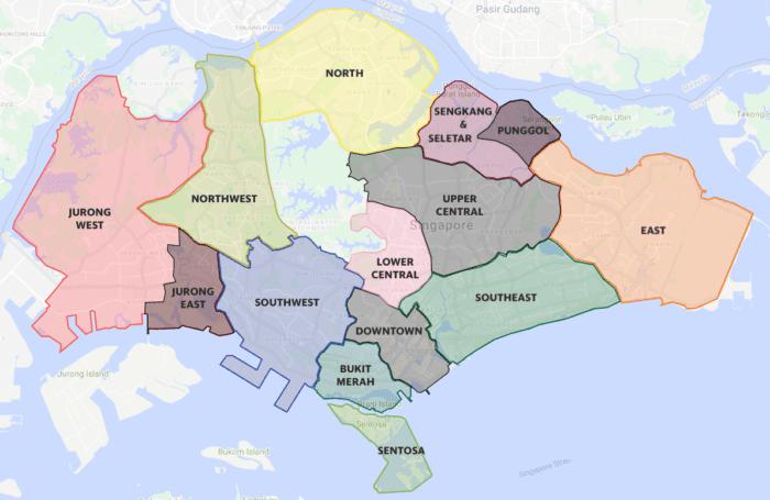 zones in singapore