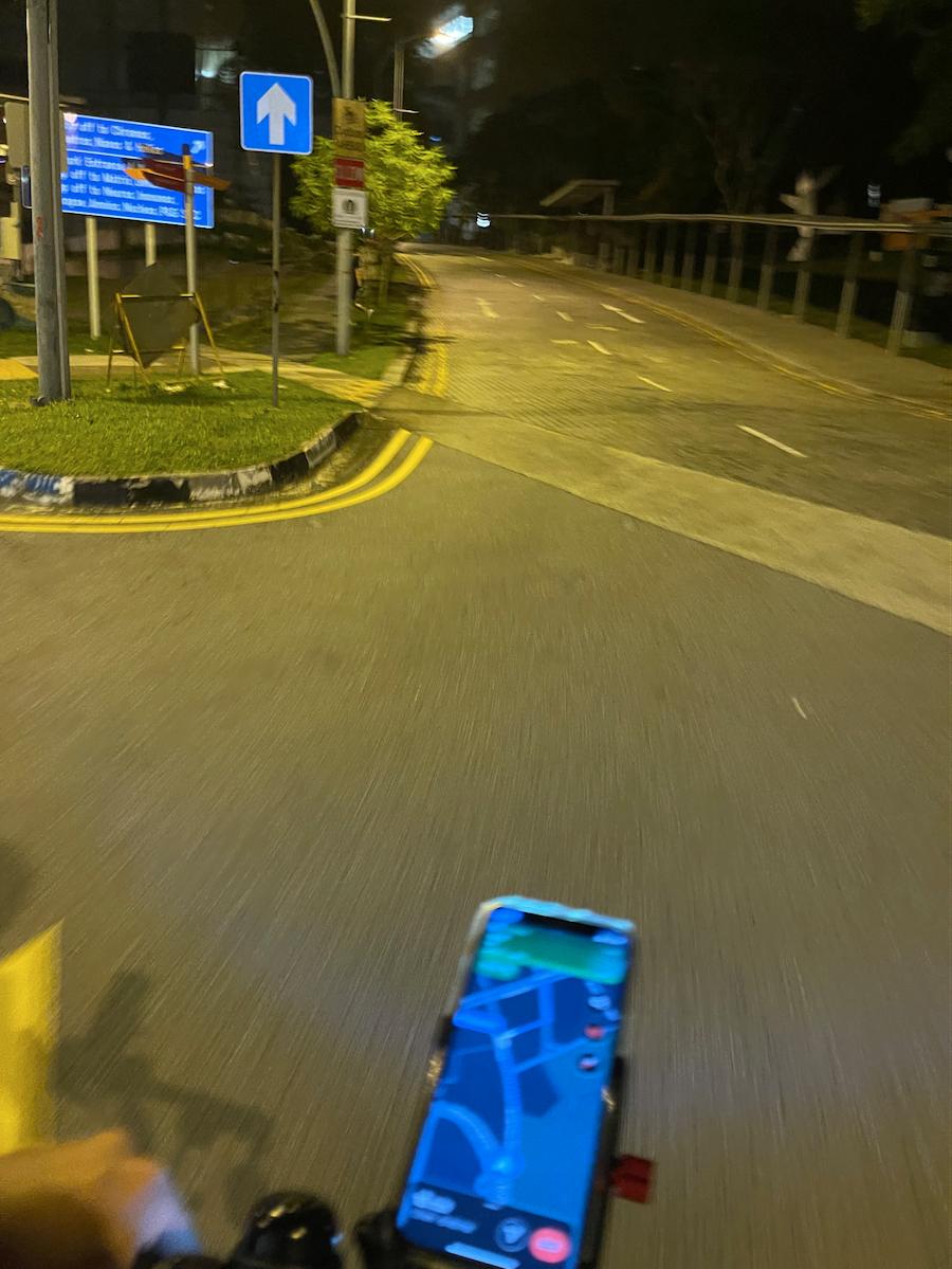 grabfood rider - hilly terrain