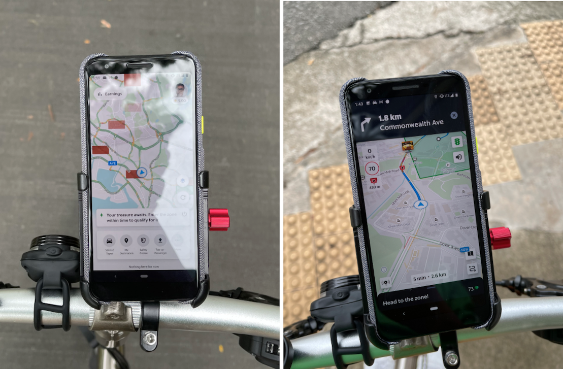 incentives and treasure zone for grabfood rider