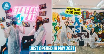 Heaven Spot graffiti art studio Singapore