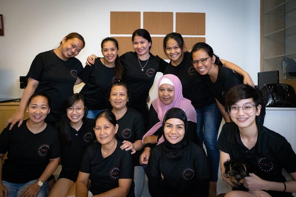 hiring maid singapore - transferring