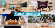 Häagen-Dazs Themed Staycation Has Exclusive Plushies & A Mini-Freezer Full Of Ice Cream