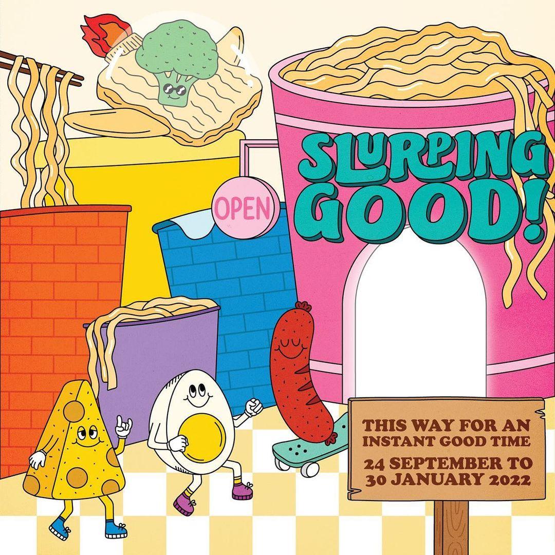 Instant noodle museum