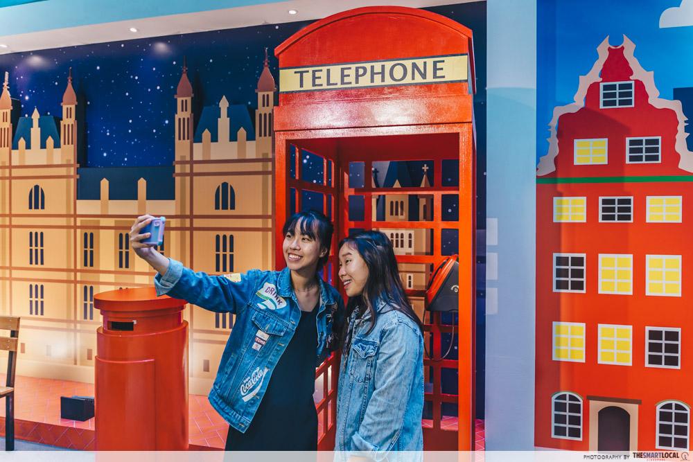 london selfie