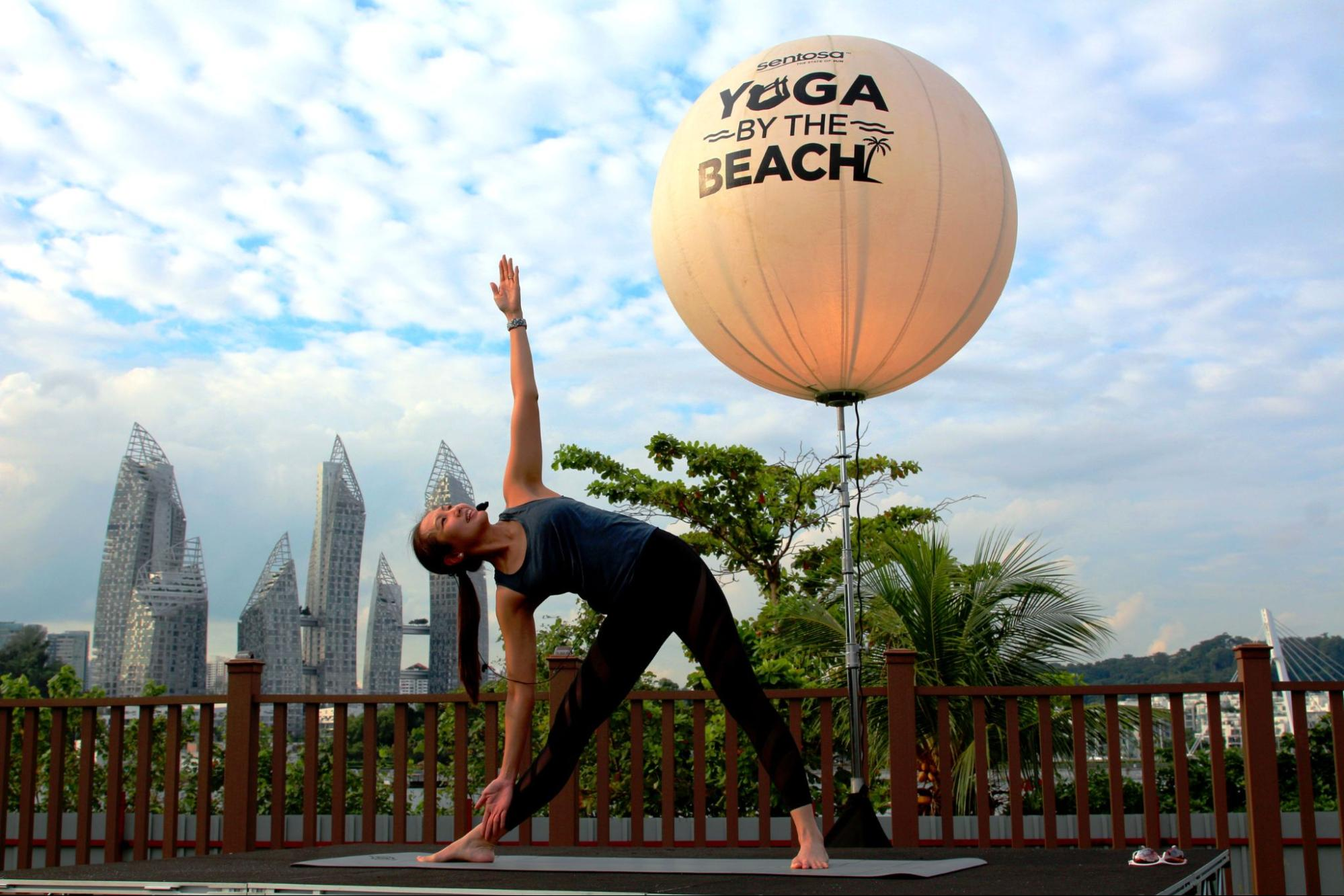 Yoga by the Beach at Southside