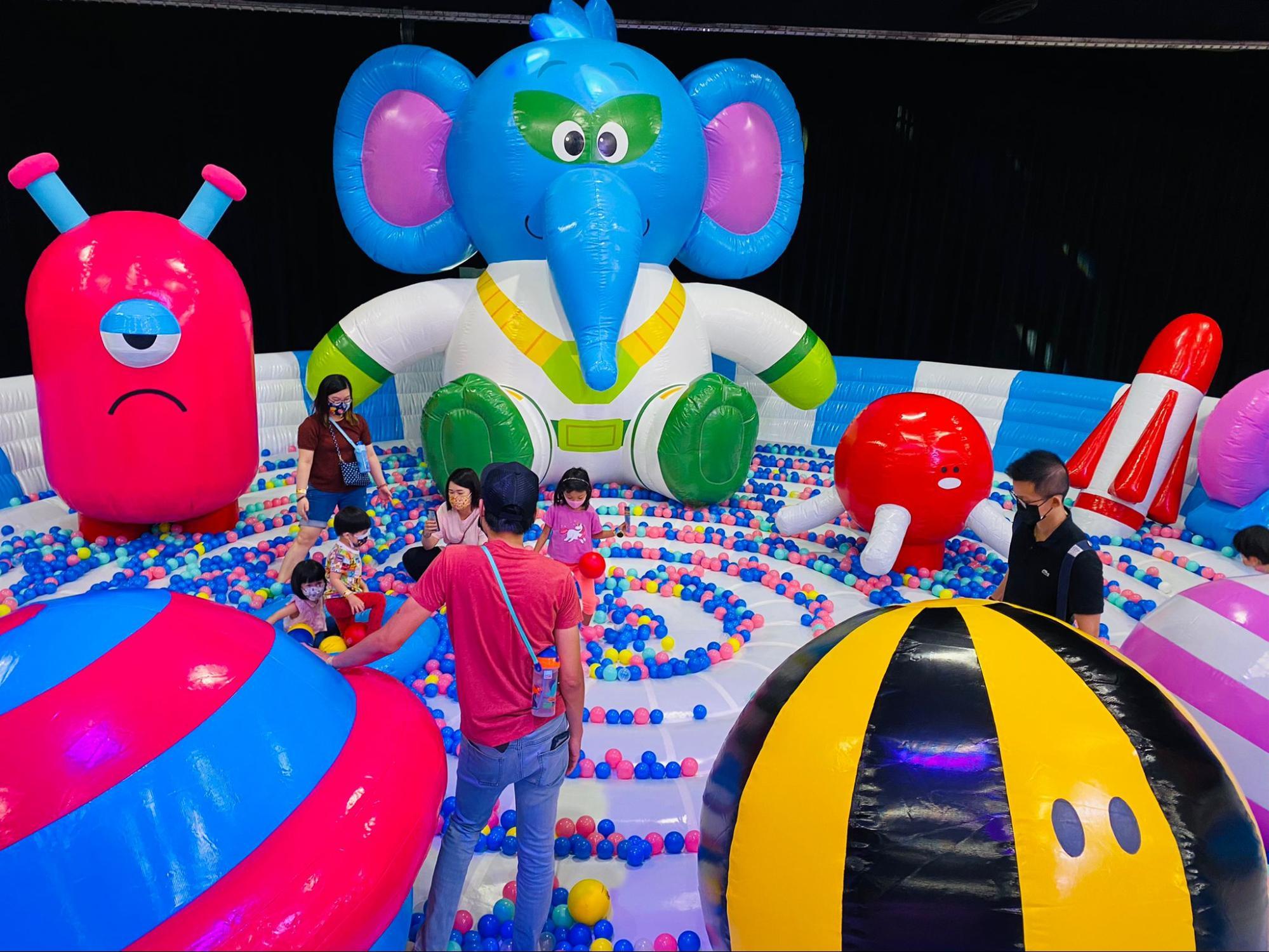 Jumptopia x KKday kid-friendly activities