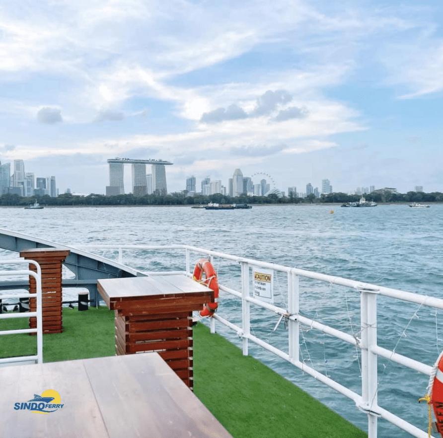 sindo ferry deck