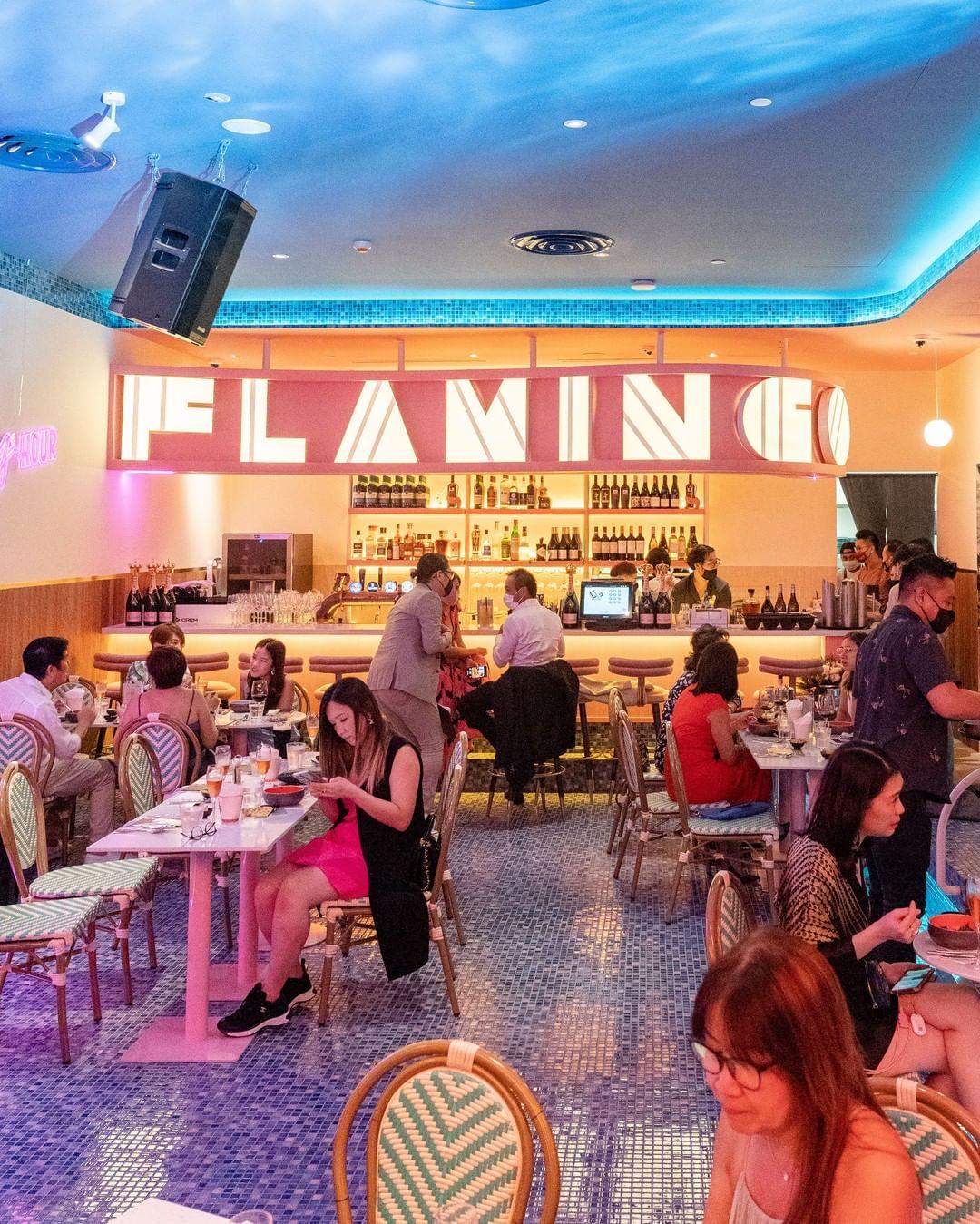 new restaurants cafes september 2021 - Tipsy Flamingo