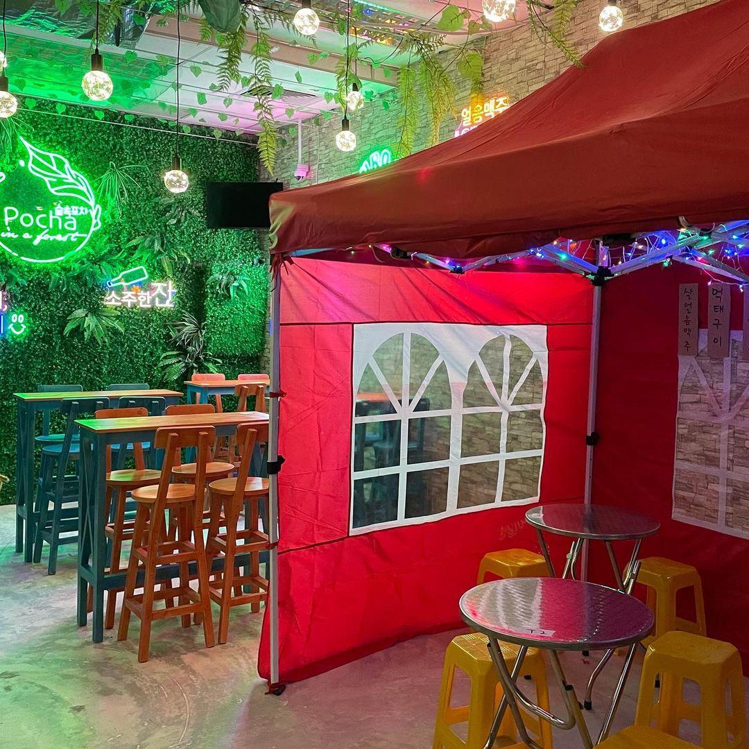 new restaurants cafes september 2021 - Pocha In A Forest