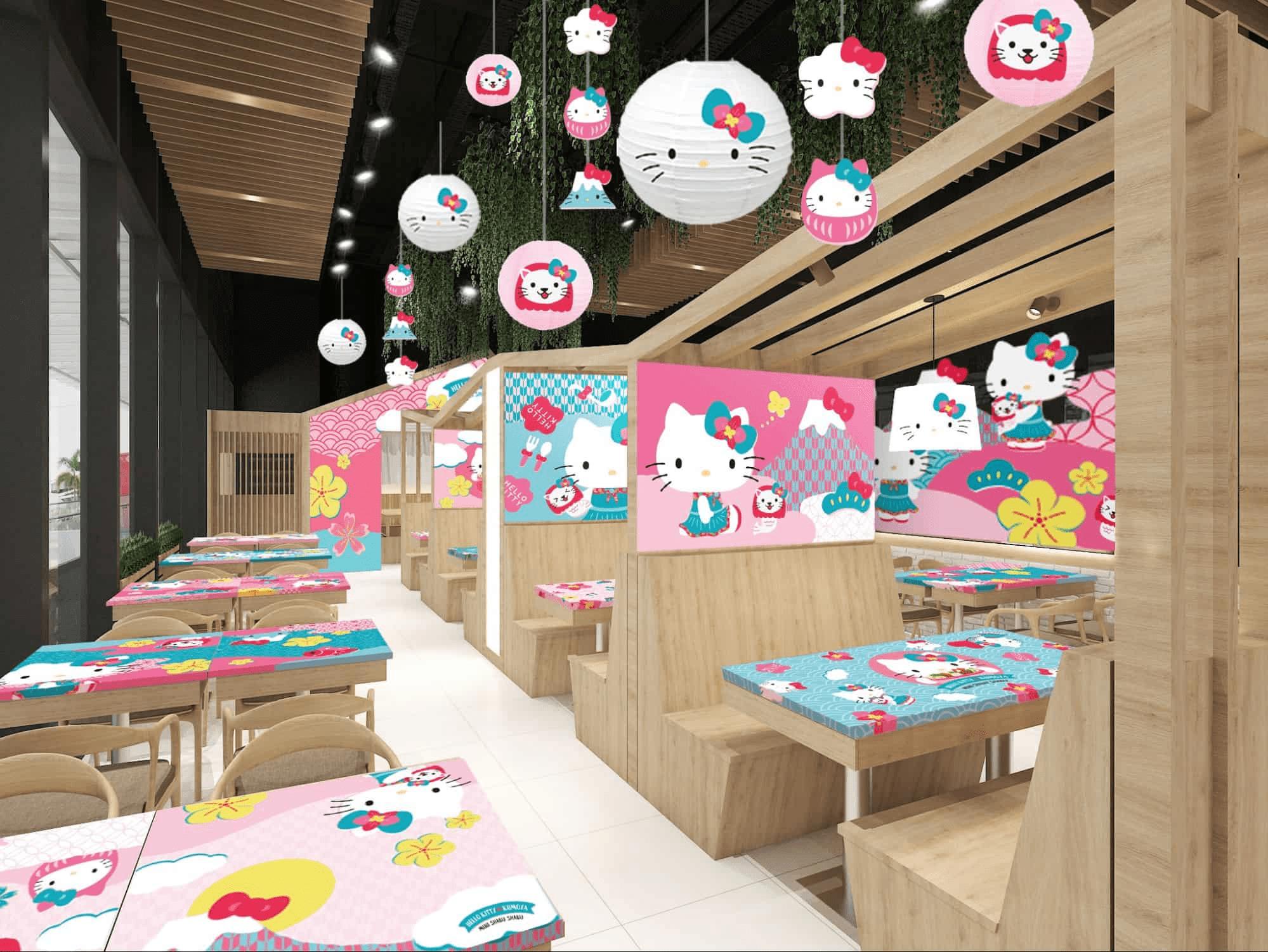 new restaurants cafes september 2021 - Hello Kitty Shabu Shabu