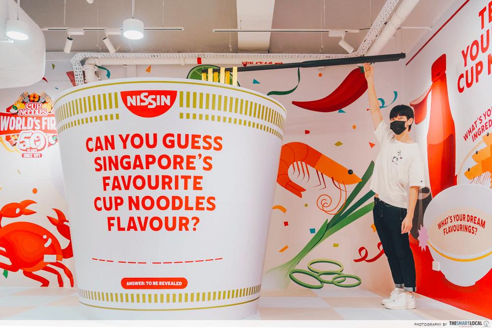 slurping good - big cup noodle