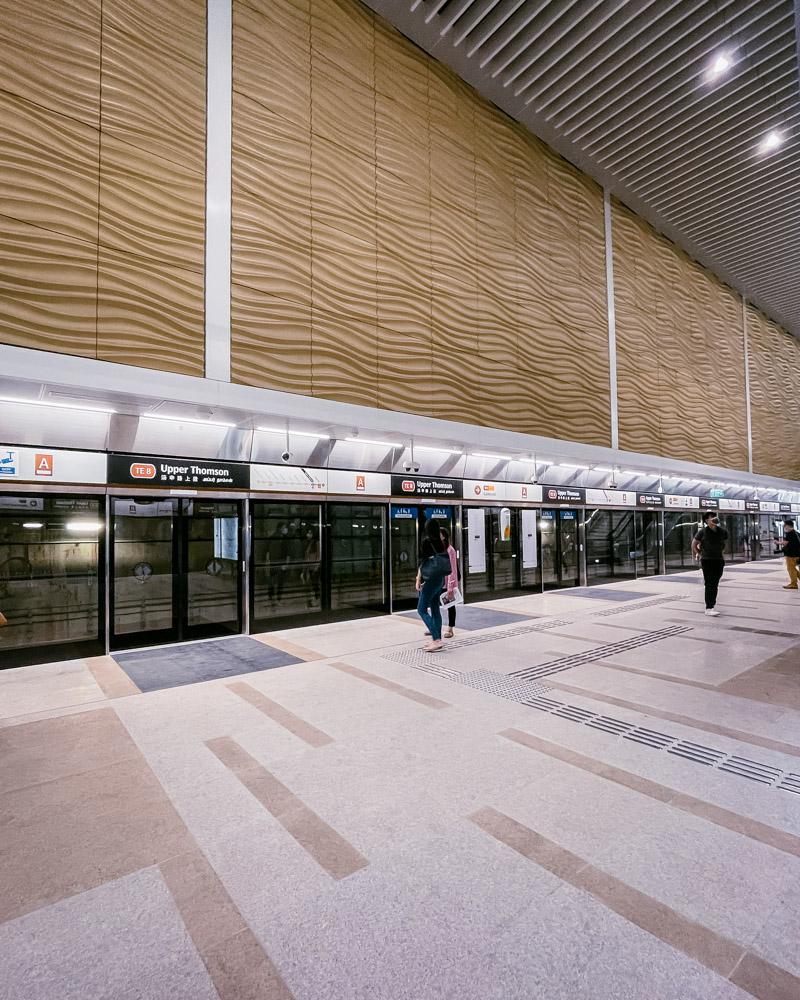 thomson east coast line - Upper Thomson MRT
