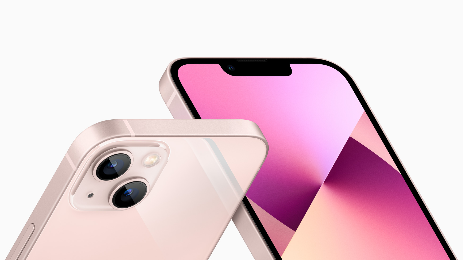 pink iphone 13