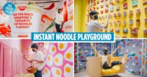 Slurping Good! Is SG's First Instant Noodle-Themed Playground With 13 Interactive Spaces