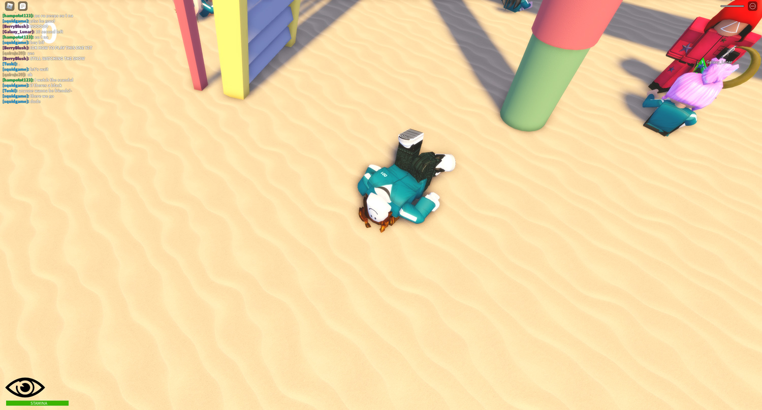 dying in squid game roblox