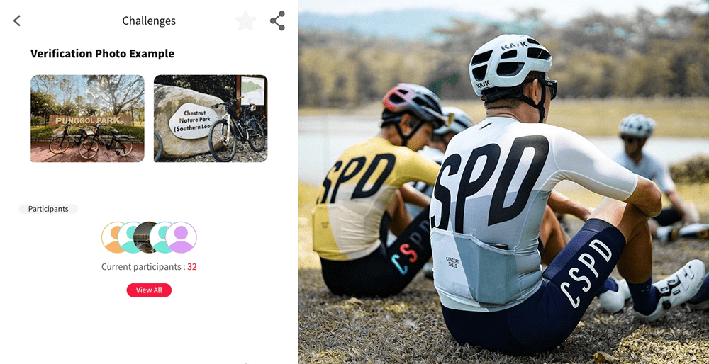 concept speed cycling apparel