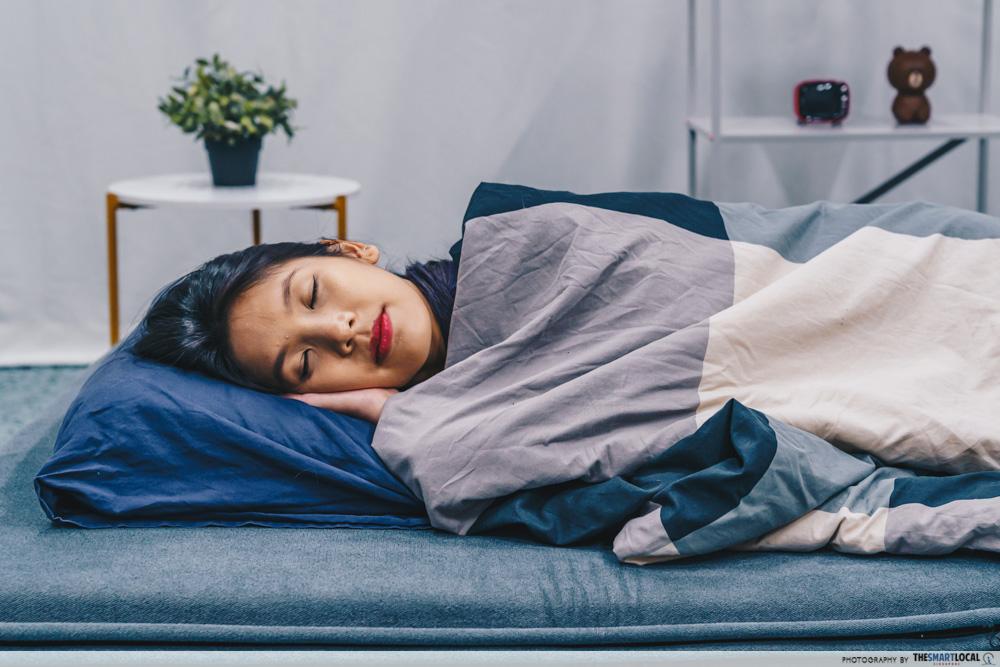 Sleeping early - GoalKeepin app
