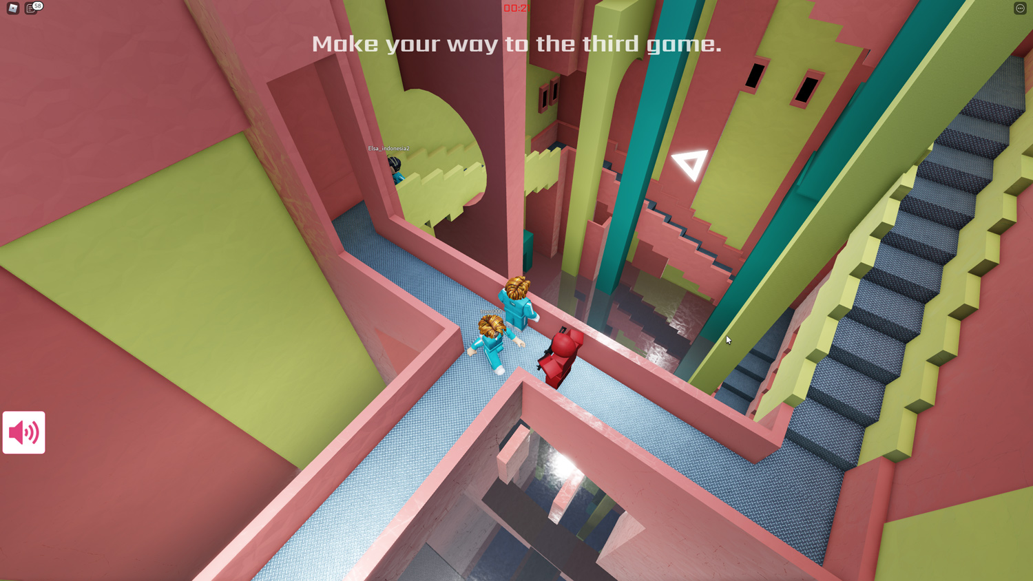 roblox squid game stairs