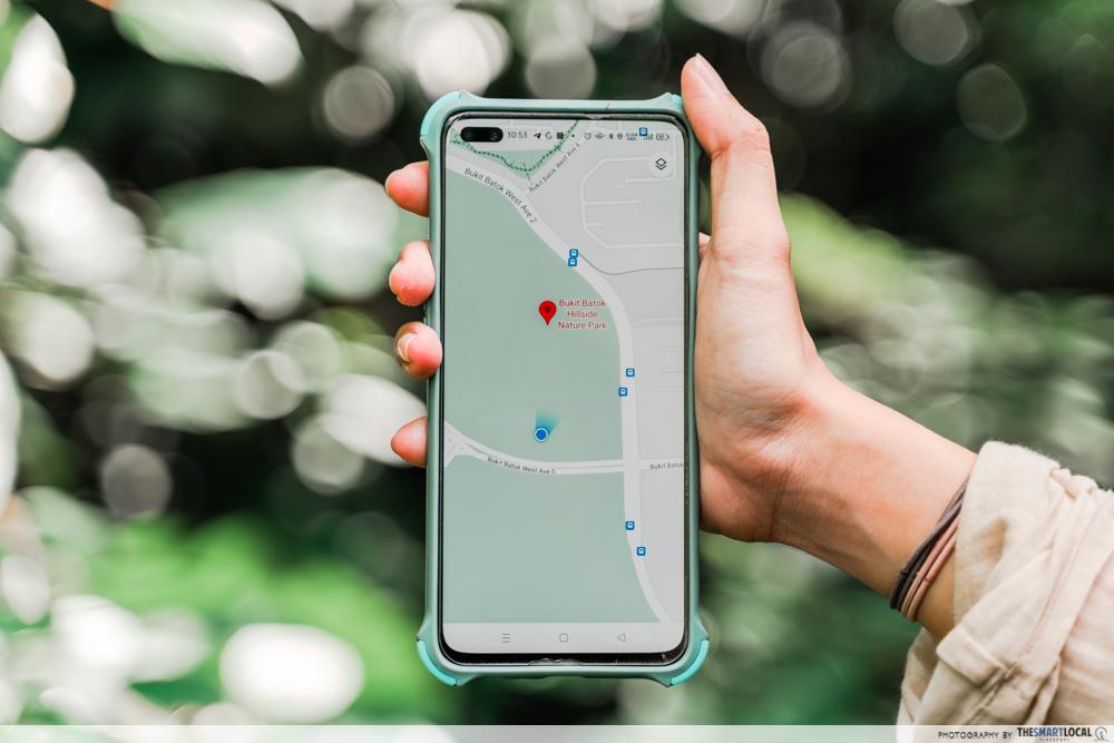 bukit batok hillside park google maps