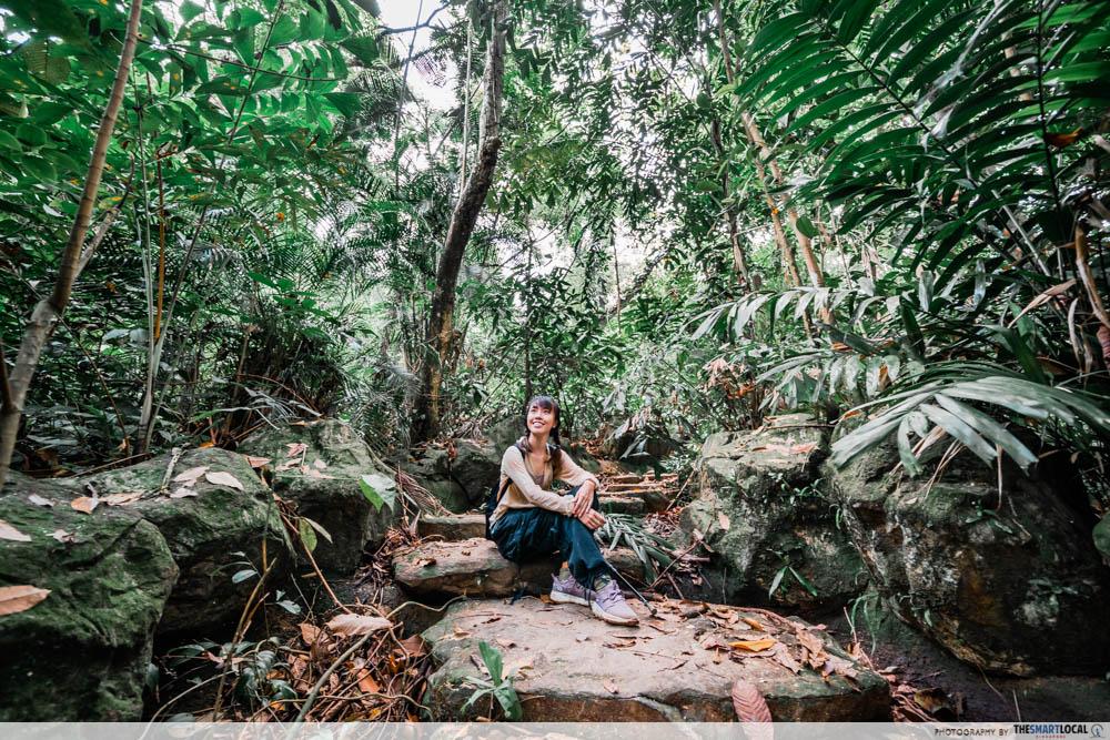 bukit batok hillside park - stairs