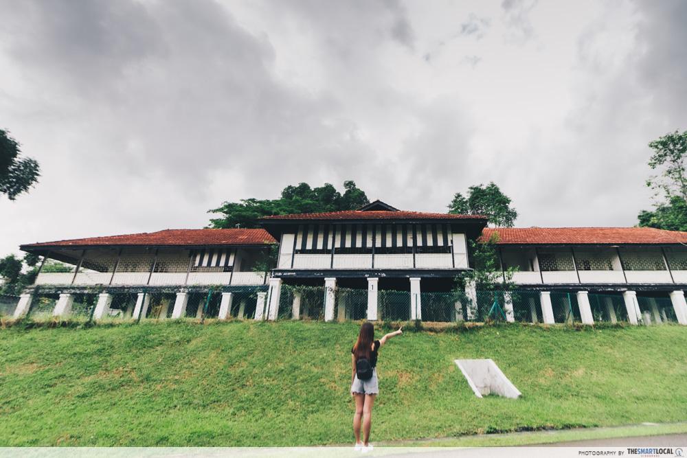 Colonial house at Seletar Aerospace Park