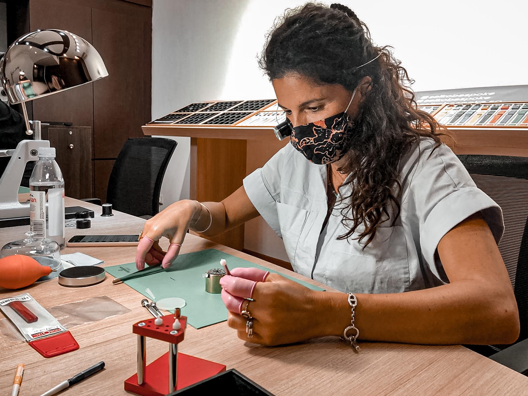 luxury activities singapore - custom watch workshop