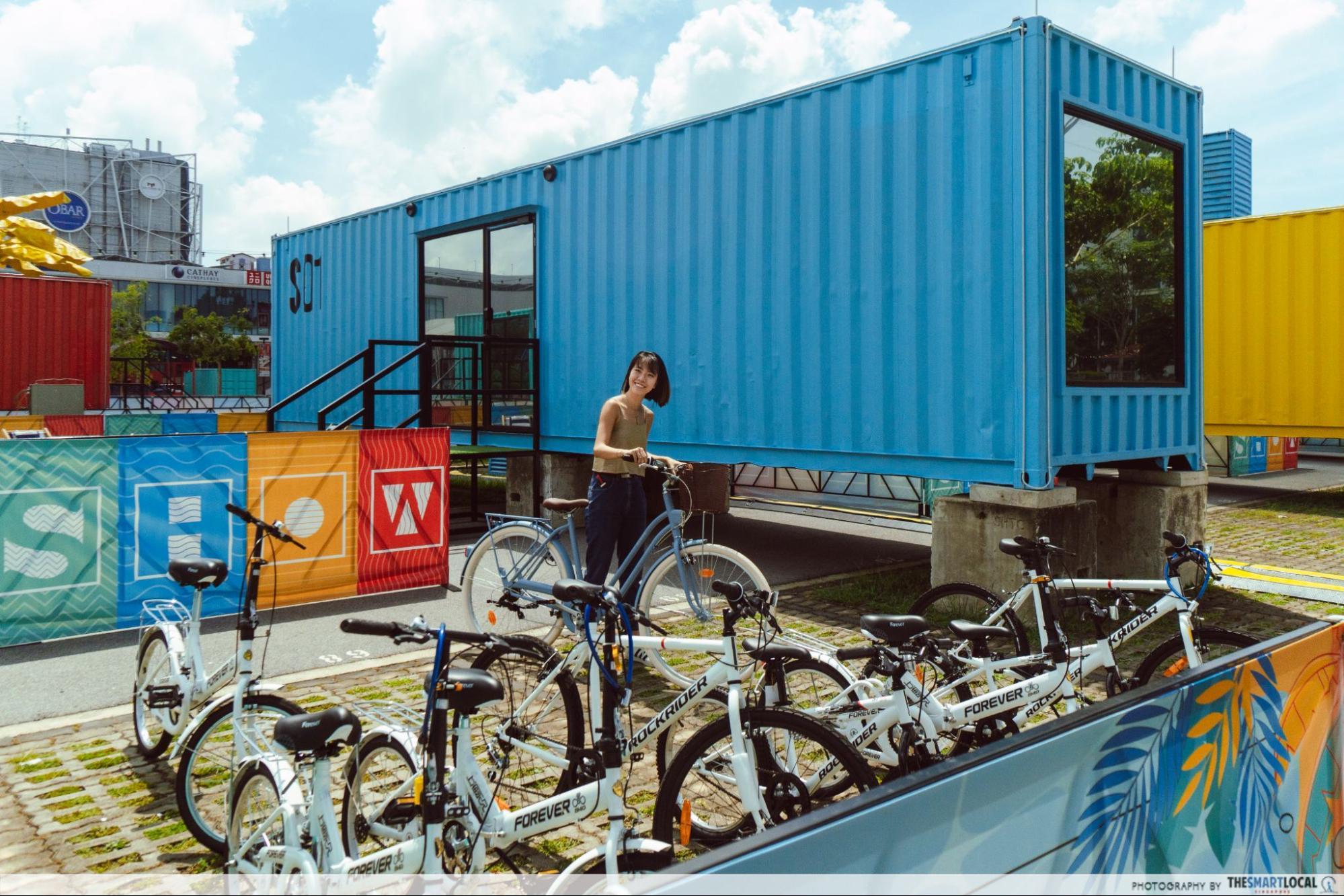 SG hotel on wheels - bike rental