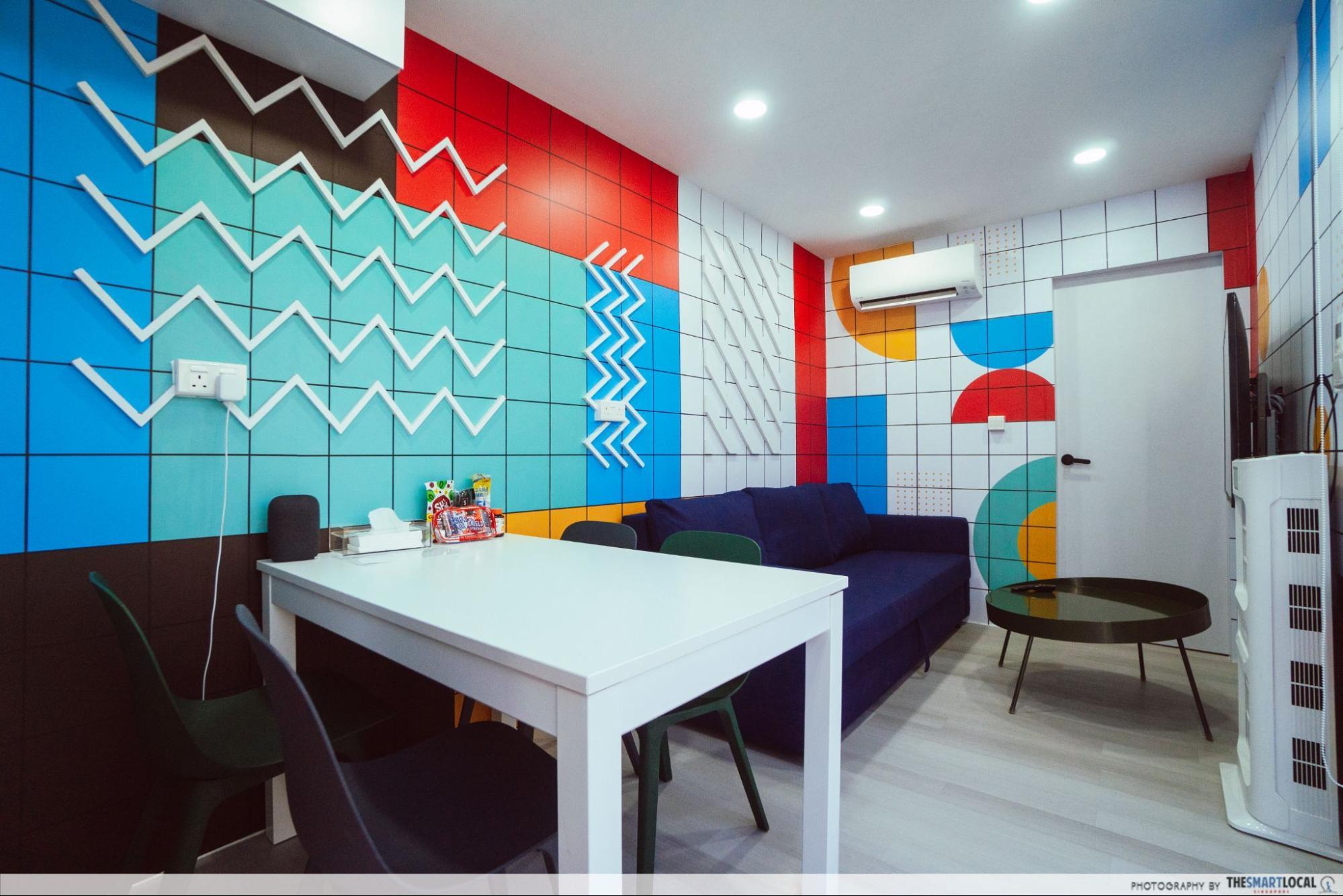 SG hotel on wheels - Pop Art room