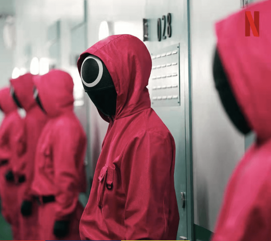 Staff red jumpsuit